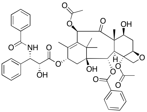 Paclitaxel, semi-synthetic
