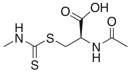 N-Acetyl-S-(N′-methylthiocarbamoyl)-L-cysteine