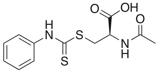 N-Acetyl-S-(N′-phenylthiocarbamoyl)-L-cysteine