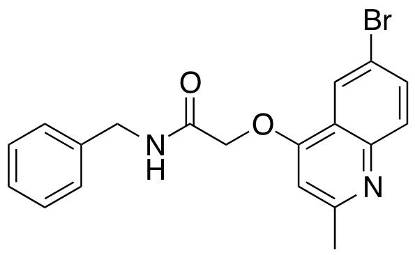 N-Benzyl-2-(6-bromo-2-methylquinolin-4-yloxy)acetamide