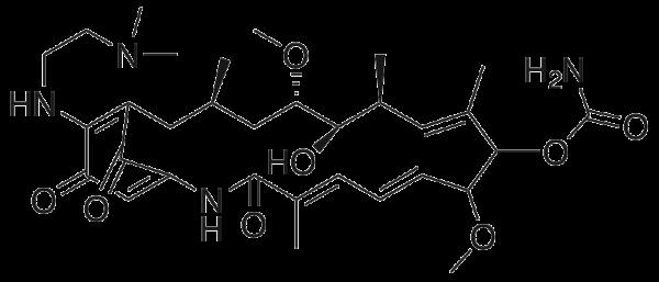 17-Dimethylaminoethylamino Demethoxygeldanamycin